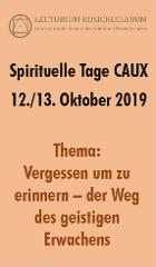 spirituelle tage caux